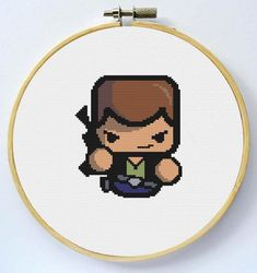 HAN SOLO Cross Stitch Pattern Instant Download por LaEsquinaDeLuna