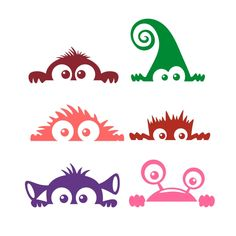 Monster Decal Cuttable Design Cut File. Vector, Clipart, Digital Scrapbooking Download, Available in JPEG, PDF, EPS, DXF and SVG. Works with Cricut, Design Space, Cuts A Lot, Make the Cut!, Inkscape, CorelDraw, Adobe Illustrator, Silhouette Cameo, Brother ScanNCut and other software.