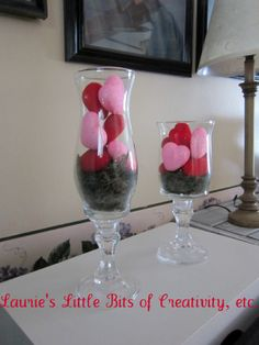 DOLLAR TREE VALENTINE DECOR | ... it any easy 5 minute Valentine decor project. Thanks for stopping in