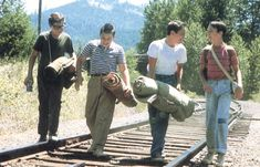 STAND BY ME: Come on, who didn't love this movie?  The quintessential story of lost innocence, wrapped in a great adventure, full of humor, charm and nostalgia.  How was River Phoenix ever so young?!  Oh, and the music was GREAT too!