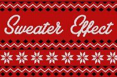 Christmas Sweater Effect by Greg Nicholls on @creativemarket