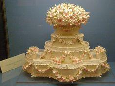 Wedding Cake by Mrs. Cile Bellefleur Burbidge