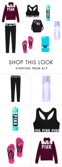 """""""PINK Everything!!!!!!!!!!!!!!!!!!!!!!!!!!!!!!!!!!!!!!!!!"""" by jazmine-1222 ❤ liked on Polyvore featuring moda, Victoria's Secret PINK, Victoria's Secret, women's clothing, women, female, woman, misses ve juniors"""