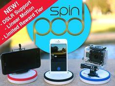 Spinpod: Seamless panoramic & motion time-lapse photography by Zhiping Chen & Daniel Aharoni — Kickstarter