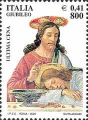 Italy Stamp 2000