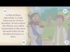 """N°28 """"L'ÂNON EST LE ROI EST SON ENTRÉ TRIOMPHALE (vidéo chrétien pour enfants dessin animé ) - YouTube Try It Free, Anime, Youtube, Sunday, King, Cartoon, Children, Projects, Cartoon Movies"""