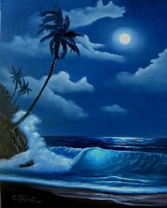 Moonlight Beach by T