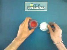 Tutorial de manualidades: Cómo hacer goma moldeable (detergente, agua, cola  - YouTube