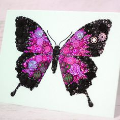 button-butterfly