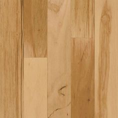 594011f125d Bruce Hickory Rustic Natural 3 8 in. Thick x 3 in. Wide x Varying Length  Engineered Hardwood Flooring (28 sq. ft.   case)