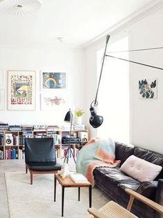 A Danish family home with design classics and art - via cocolapinedesign.com