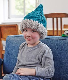 Elf hat from Knit Now Issue 26