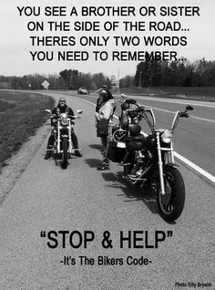 Without a doubt that not only is for Bikers but Truckers as well