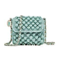 Bolsa de grife em crochê e tricô - faça você mesma