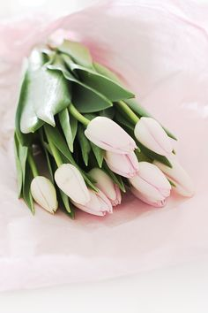#soft and pretty tulips...