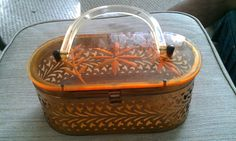 vintage 1950's lucite purse by chinagirlsvintage on Etsy, $60.00