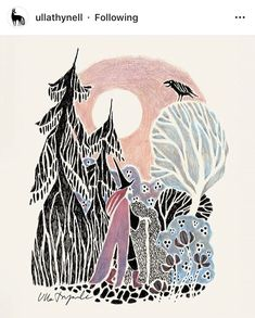 North Witch Art Print by Ulla Thynell - X-Small Character Illustration, Illustration Art, Creative Illustration, Wizard Tattoo, Background Drawing, Poetry Art, Rabe, Witch Art, Art Studies