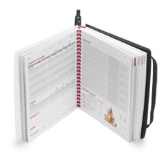 Fitbook Fitness Journal: It contains a 12-week system, with weekly sections that help you plan and track workouts and food intake. The hard plastic cover withstands being stuffed in the gym bag. $23 at www.getfitbook.com or Target.