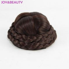 Cheap clip in hair, Buy Quality clip in hair bun directly from China clip ins Suppliers: JOY&BEAUTY 3 Color Synthetic Hair Long Chignon Hand Knitting Clip In Hair Bun High Temperature Fiber Donut Hair Rollers