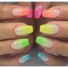 Nail Art Gallery Glitter Gel Photos