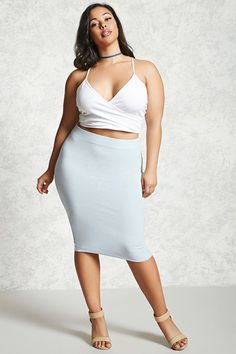 All the Cutest Pastel Items You Can Get At Forever 21 Right Now for Spring Plus Size Looks, Curvy Plus Size, Plus Size Women, Most Beautiful Models, Beautiful Curves, Beautiful Black Women, Curvy Fashion, Plus Size Fashion, Female Fashion