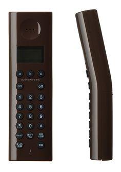 Generate Design: Cordless Telephone (コードレス電話機) : 深澤 直人 : +-0
