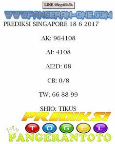 PANGERANTOTO: pangerantoto prediksi togel singapore 18/6/2017