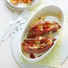 ESSEN & TRINKEN - Süßkartoffeln mit Mozzarella Rezept