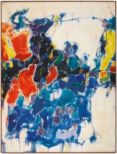 Sam Francis Summer No 1 1957 Oil on Canvas Action Painting, Painting & Drawing, Tachisme, Jackson Pollock, Most Expensive Painting, Sam Francis, Art Informel, Fine Art Auctions, Historical Art