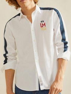 Retro 2, Men Shirt, Dress Shirt, Eve, Chef Jackets, Shirt Designs, Buttons, Lifestyle, Coat
