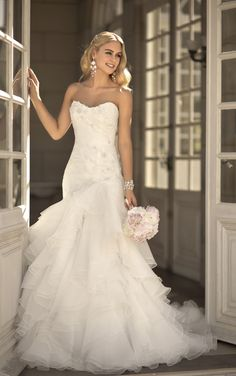 Designer sweetheart neckline wedding dresses feature crystals adorning a sweetheart neckline. Exclusive sweetheart neckline wedding dresses ...
