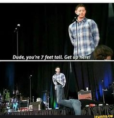 My reaction to anyone taller than me