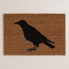 Black Crow Halloween Doormat | World Market