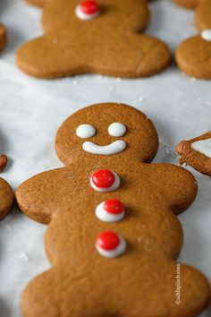 Gingerbread Cookies Recipe from addapinch.com