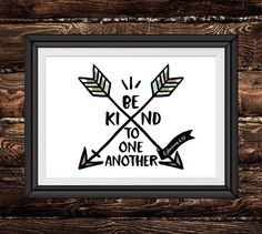 Be kind to one another Ephesians 4:32 by SeedsofFaithDesigns