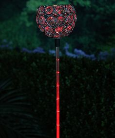 Another great find on #zulily! Solar LED Garden Stake #zulilyfinds