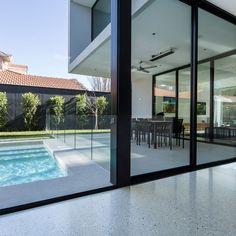 Oak Inspiration Geocrete, Premium Concrete Polishers - Polished Concrete Melbourne The Vital Role of Polished Concrete Kitchen, Concrete Look Tile, Polished Concrete Flooring, Concrete Pool, Concrete Houses, Building A Fence, Building A House, Concrete Furniture, Urban Furniture