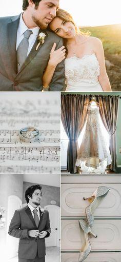 Jonna Walsh wears Watters Torreon gown to marry American Idol winner Lee DeWyze