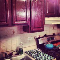 Redid my kitchen cabinet