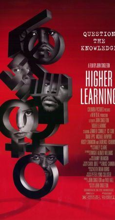 Higher Learning is a 1995 American drama film, directed by John Singleton, and starring an ensemble cast. Laurence Fishburne as Professor Maurice Phipps Jennifer Connelly, Image Cinema, Peliculas Audio Latino Online, Kristy Swanson, African American Movies, Omar Epps, Michael Rapaport, 1995 Movies, Entertainment