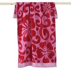 #carillopin http://www.carillobiancheria.it/telo-mare-sweet-years-hawaii-in-spugna-di-cotone-m998.html