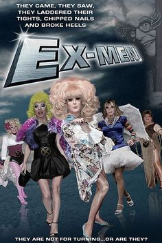 Funny Movie Poster Remakes - Ex-Men