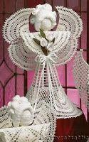 TRI CRO OF Tuka: Angel / háčkování