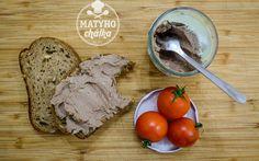 Jemná králičí paštika Oatmeal, Breakfast, Food, The Oatmeal, Morning Coffee, Rolled Oats, Essen, Meals, Yemek