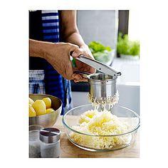 IDEALISK Potato press, stainless steel - IKEA