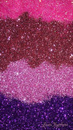 Glitter phone wallpaper colorful sparkle background pretty girly sparkling pink purple glitter #GlitterFondos