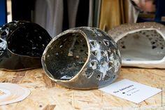 #ceramic #candleholder by Ola Zaborowska in Shop of Form at Malta Festival 27-28 June 2013 in Poznan, Poland.