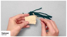 Natalie of Nattypat Crochet demonstrates how to embellish crochet amigurumi toys, or any needlework, with the simple latch hooking technique. —Crochet Patter...