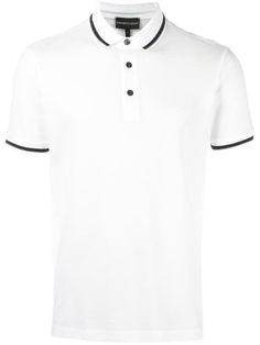 EMPORIO ARMANI shortsleeved polo shirt. #emporioarmani #cloth #shirt