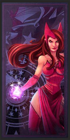 Scarlet Witch | Artist: Ryan Hall